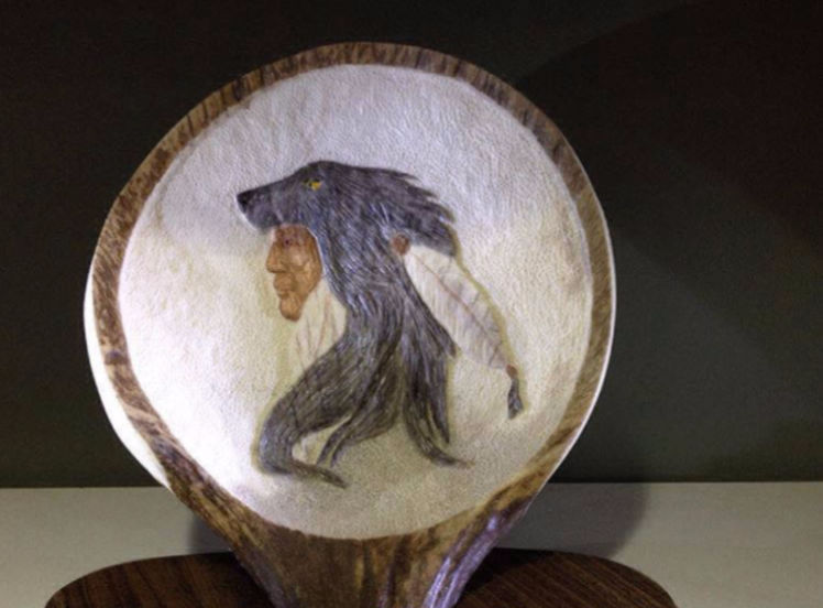 Best photos of wolf wood carving pattern animal wood carvings